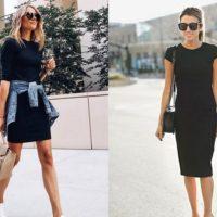Modelos de vestido preto