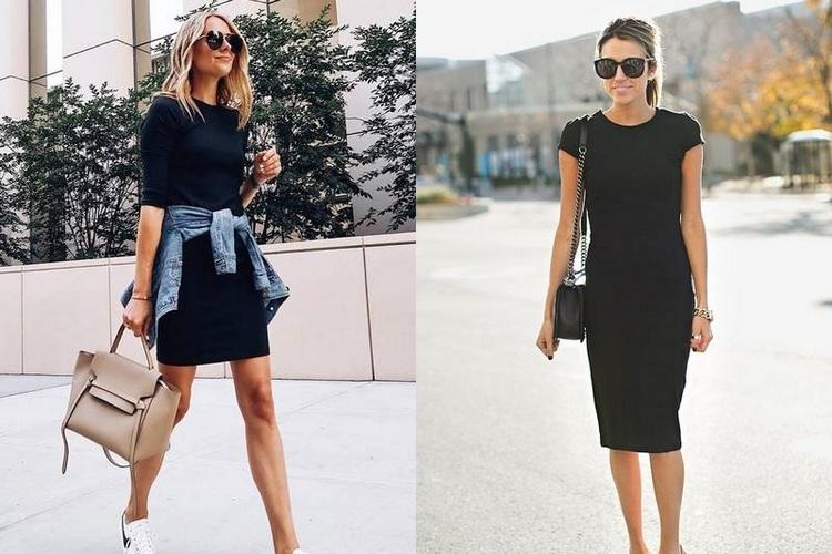 Modelos de vestido preto que favorecem a sua silhueta!