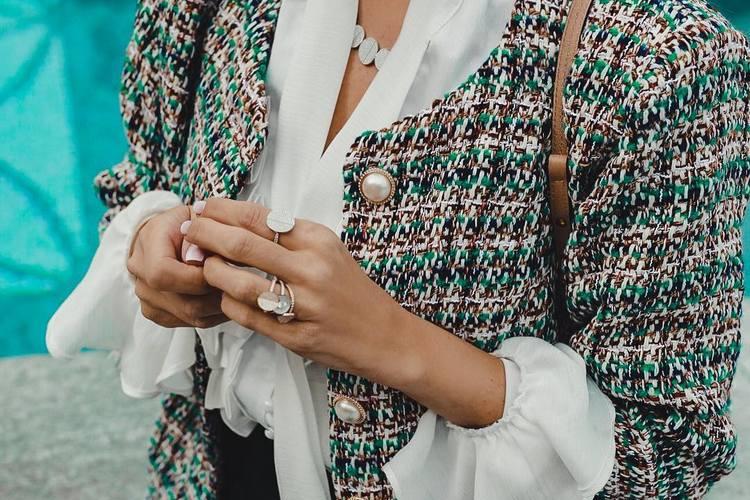 Casaco de tweed clássico – Ícone de estilo!
