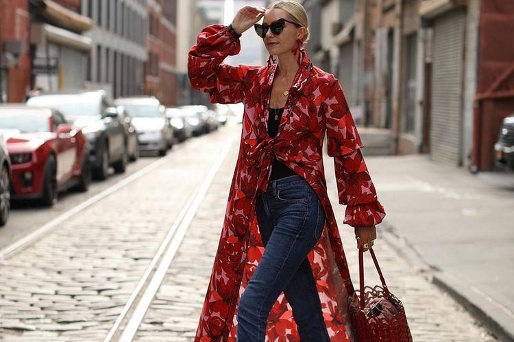 Como usar vestidos com calças – Primavera verão