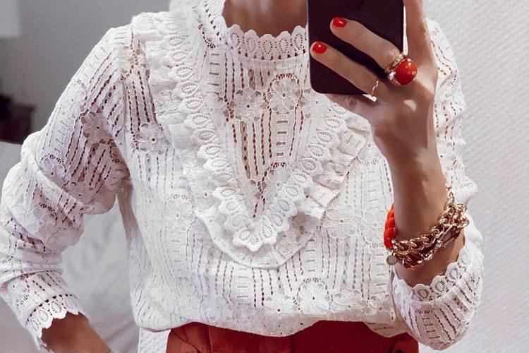 Peças de roupa cheias de romantismo – Moda primavera verão