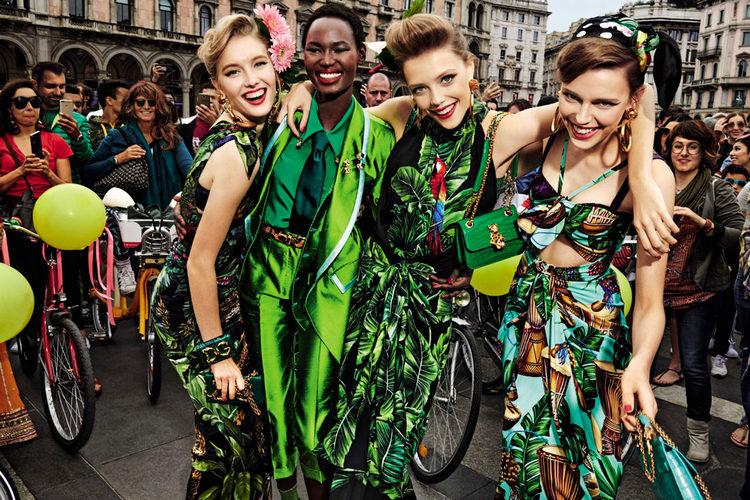 Verde a cor da primavera verão – Tendência 2020